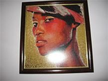 Гоблен - Африканка