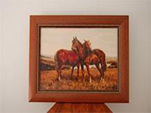 Гоблен - Арабски коне