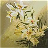Гоблен - Бели лилиуми