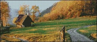 Гоблен - Есен в Швейцария