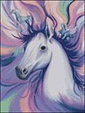 Гоблен - Фантазия - кон
