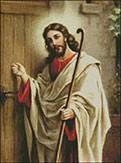 Гоблен - Христос чука на вратата