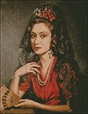 Гоблен - Испанката