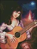 Гоблен - Китаристката