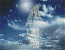 Гоблен - Появяването на Богородица