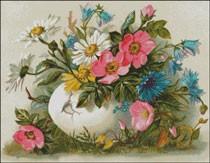 Гоблен - Пролетни цветя