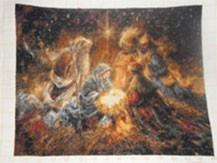 Гоблен - Раждането на Исус