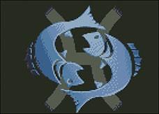 Гоблен - Риби - стил
