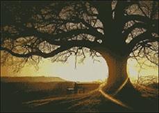 Гоблен - Вековното дърво