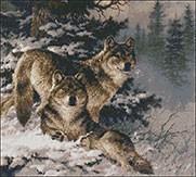Гоблен - Вълци