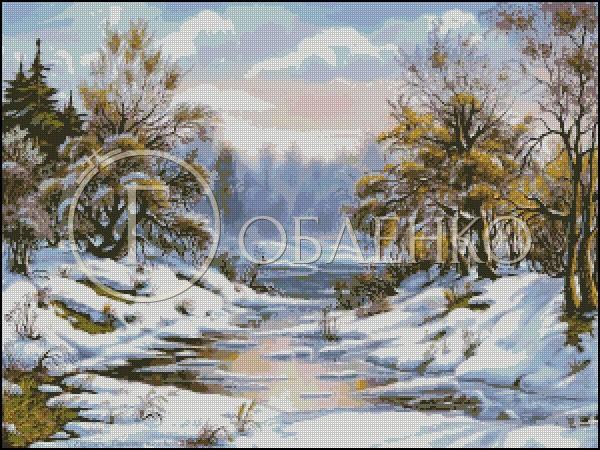 Зима с поток