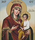 Гоблен - Богородица и Иисус