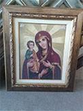 Гоблен - Богородица Троеручица