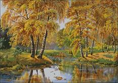 Гоблен - Златокоса есен