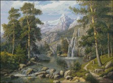 Гоблен - Горски поток